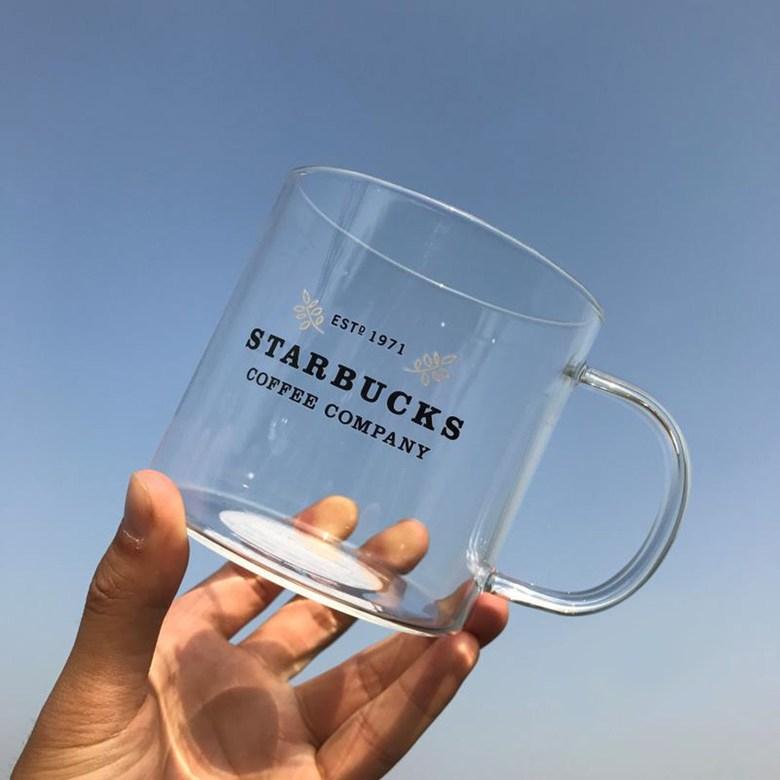 Starbucks 오리지널 내열유리 대용량 머그컵 532ml, 1개, 투명