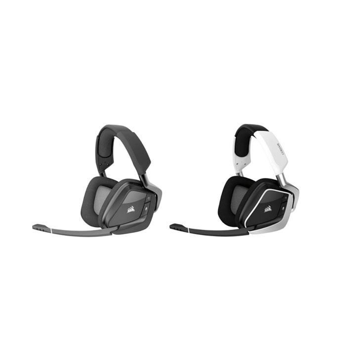 커세어 보이드 프로 RGB 게이밍 무선 헤드셋 2종 / CORSAIR VOID PRO RGB Wireless Gaming Headset, 1. Black