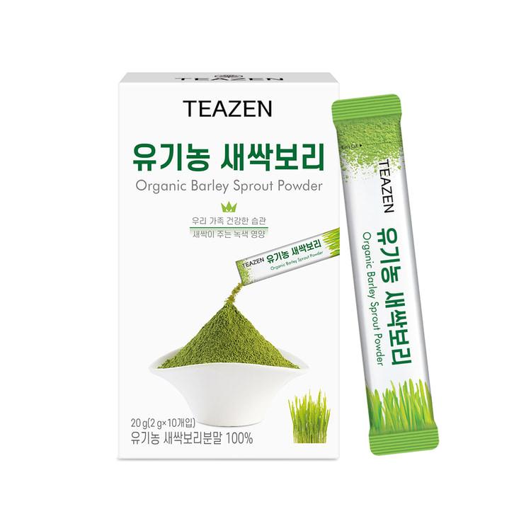 티젠 유기농 새싹보리 2g*10T, 2g, 10개
