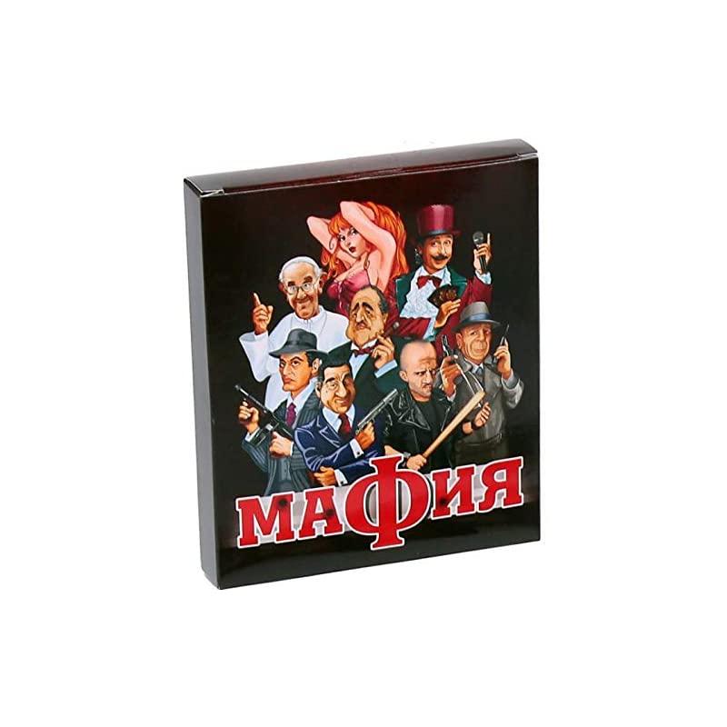 12세 이상 성인을 위한 회사 보드 게임용 러시아 파티 게임의 마피아 게임 세트 카드, 상세페이지 참조