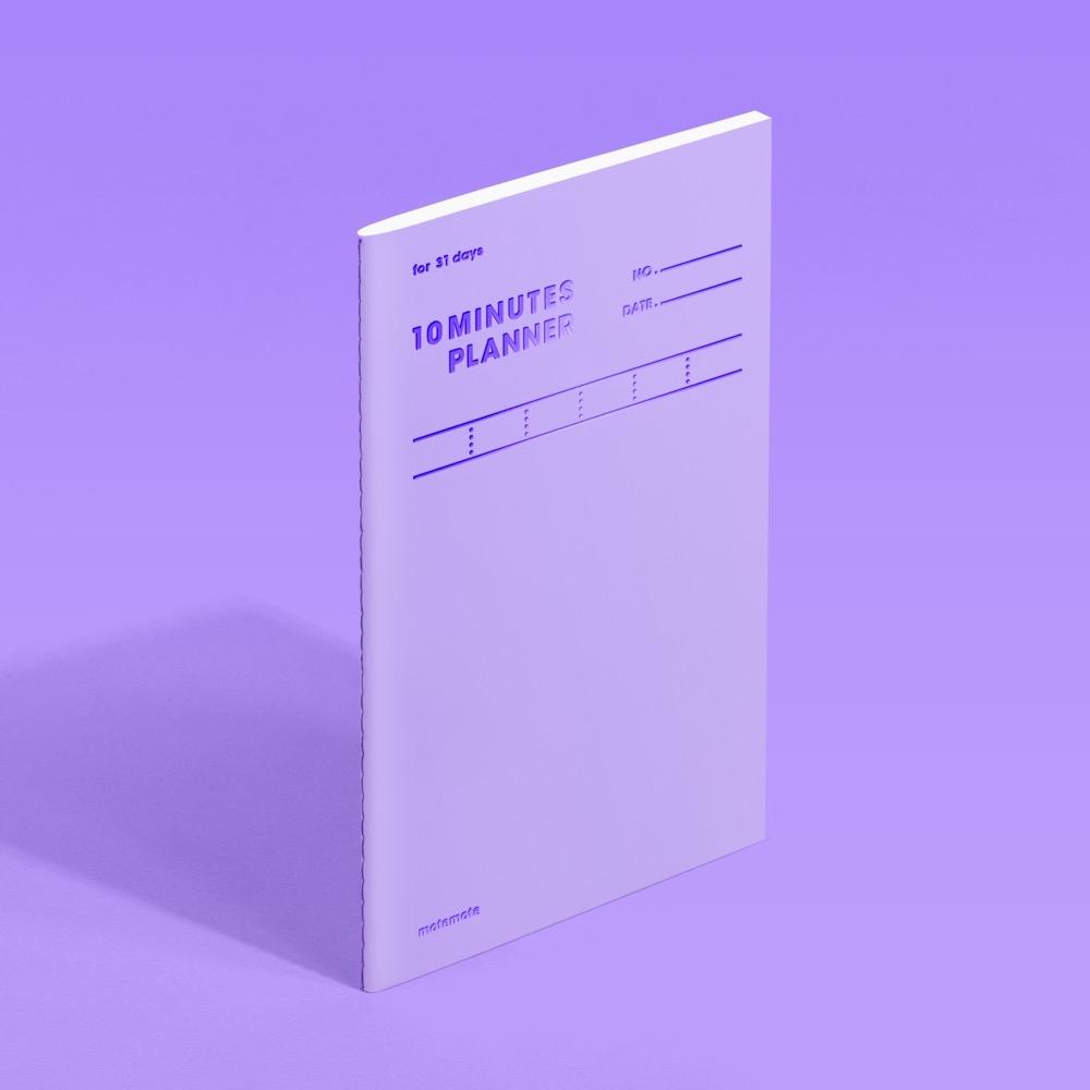 모트모트 텐미닛 플래너 31days - 바이올렛
