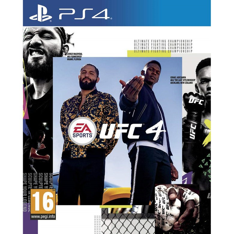 UFC 4 (PS4), 단일상품