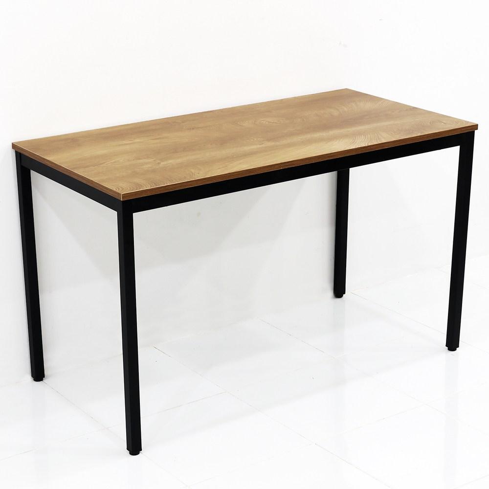 THEJOA 모던테이블 카페 테이블 업소용 입식 식탁 카페/업소용/식탁/컴퓨터책상, 1200 우드슬랩