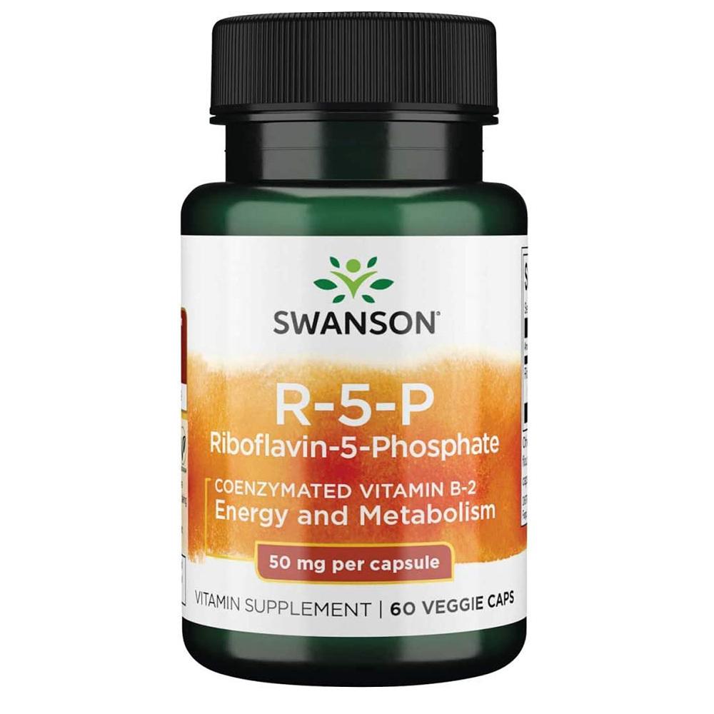 Swanson 스완슨 리보플라빈 5 인산염 영양제 50mg 60정 1병