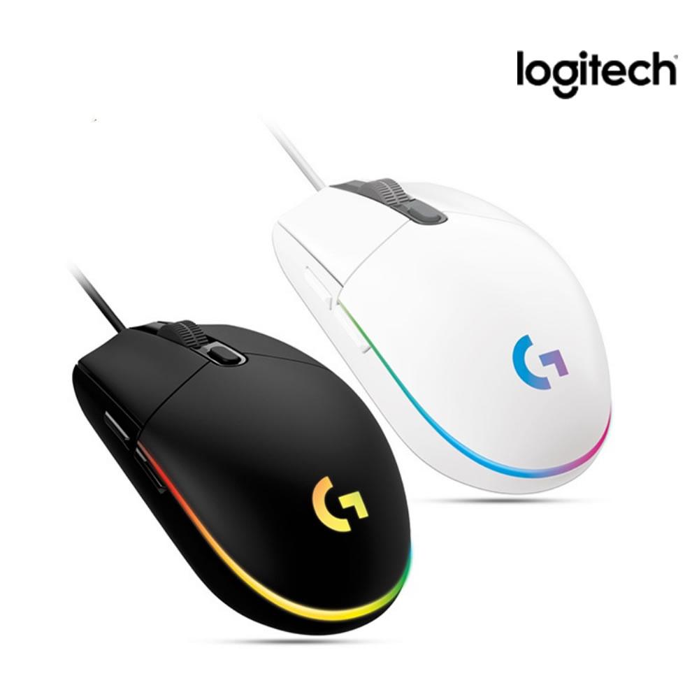 로지텍 G102 게이밍광마우스 2세대 유선 Lightsync 1개[로지텍코리아정품] 마우스, G102 2세대 Lightsync, 화이트