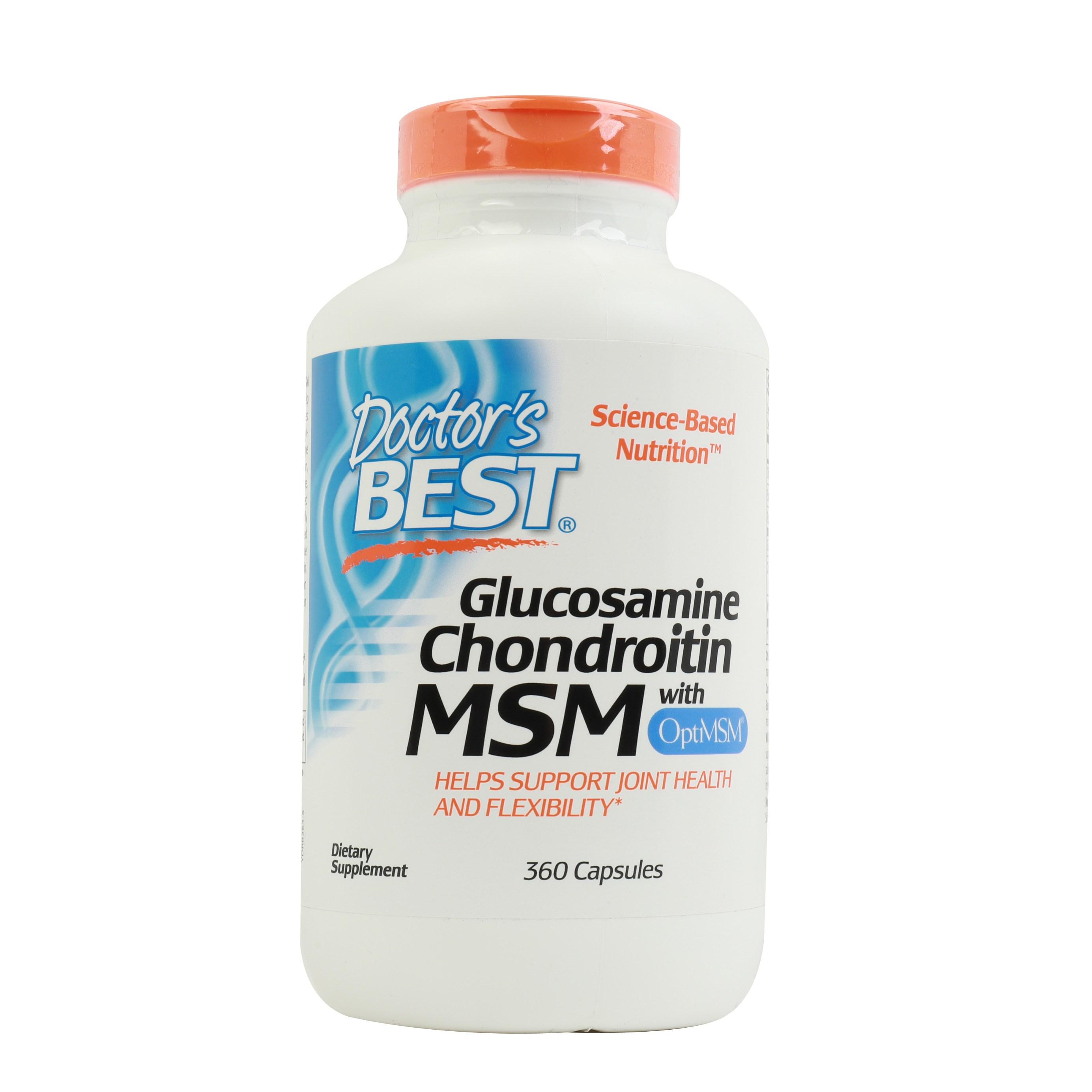닥터스베스트 글루코사민 콘드로이틴 MSM 캡슐, 360개입, 1개