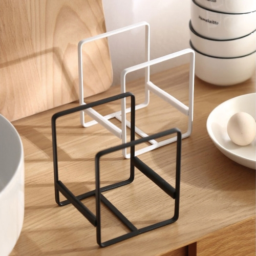 접시정리대 이케아 접시꽂이 그릇 거치대 쟁반꽂이 싱크대 주방, S블랙