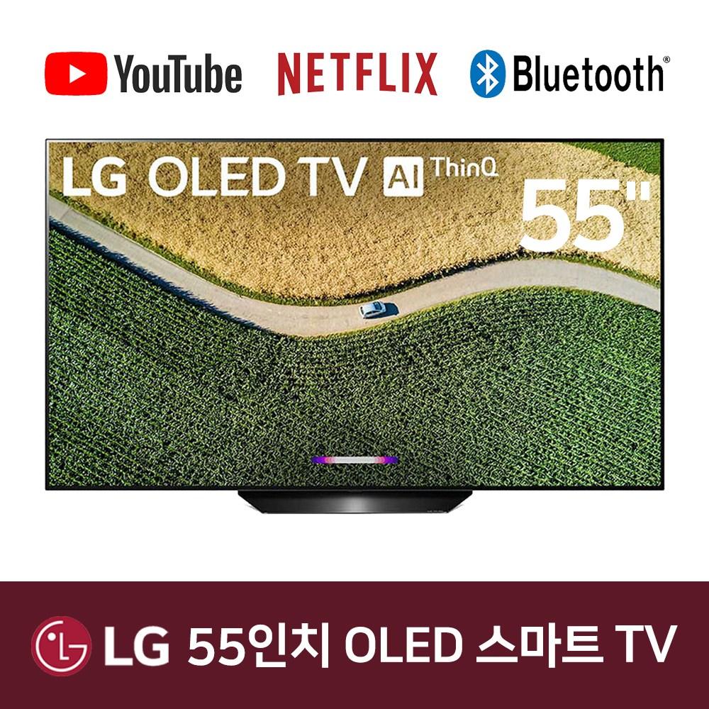 LG 55인치 OLED55B9PLA OLED 4K UHD 스마트 ThinQ TV, 매장방문수령[분당]