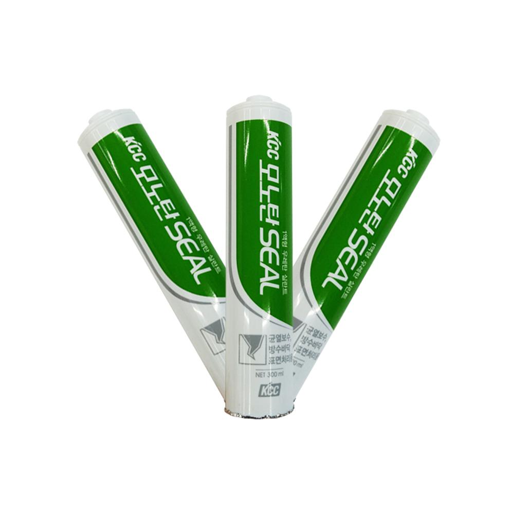 kcc 모노탄씰 옥상방수 우레탄 실리콘, 백색