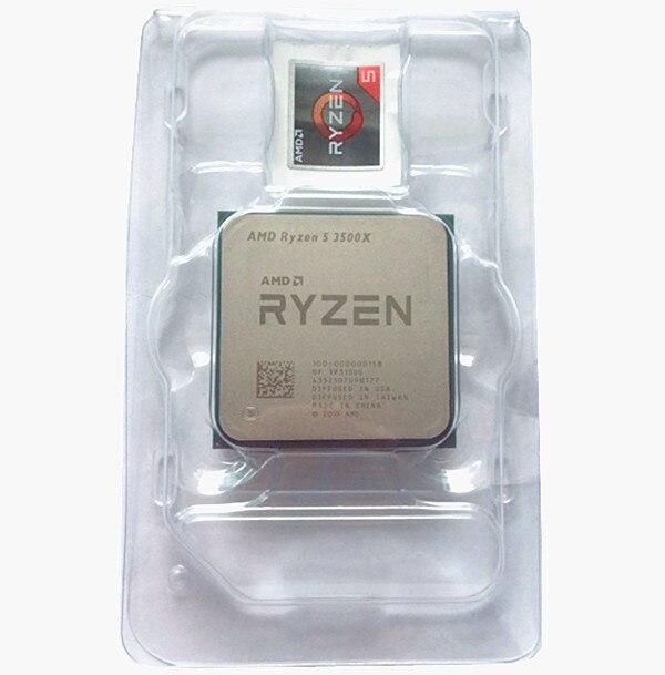 AMD Ryzen 5 3500X R5 3500X 3.6 GHz Six-Core Six-Thread CPU Processor 7NM 65W L3=32M Socket AM4 New, One Color