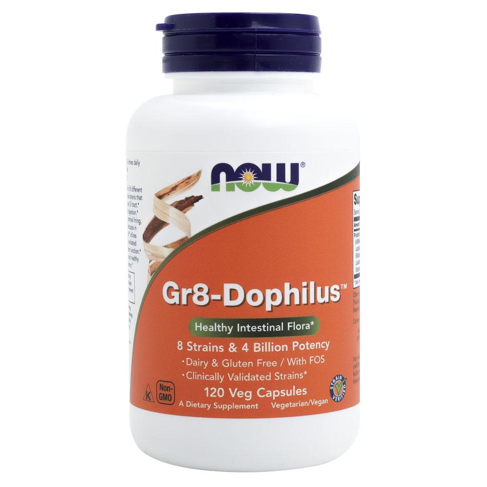 나우푸드 Gr8-도필러스 유산균 베지 캡슐, 120개입, 1개