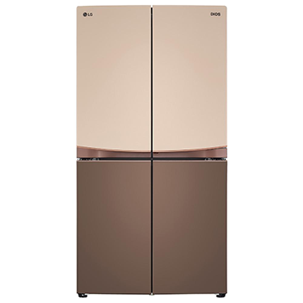 LG전자 F873EF35E 냉장고 매직스페이스 1등급 환급대상 하모니 브라운