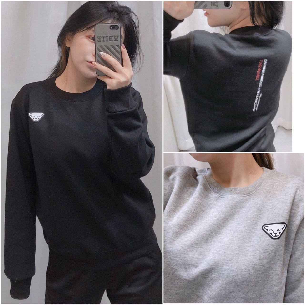 다이나핏 패치 기모 맨투맨 티셔츠 - 가을신상(남녀공용)