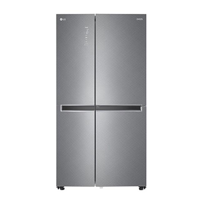 LG전자 S633SN35Q 양문형냉장고 세미빌트인 매직스페이스 샤이니 사피아노
