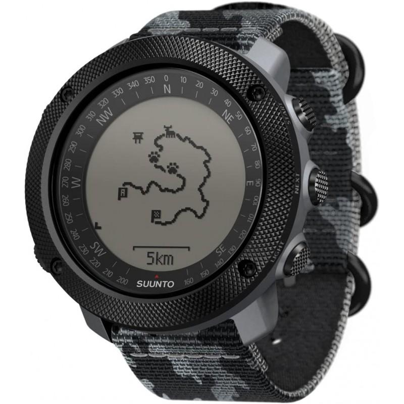 SUUNTO (순토) SUUNTO TRAVERSE ALPHA (슨트 횡단 알파) 스마트 워치 GPS 등산 기압계 [일본 정품 메이커, 단일상품, 단일상품