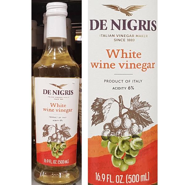 DE NIGRIS 데니그리스 화이트와인 비네거 500ml (발효식초) 이탈리아