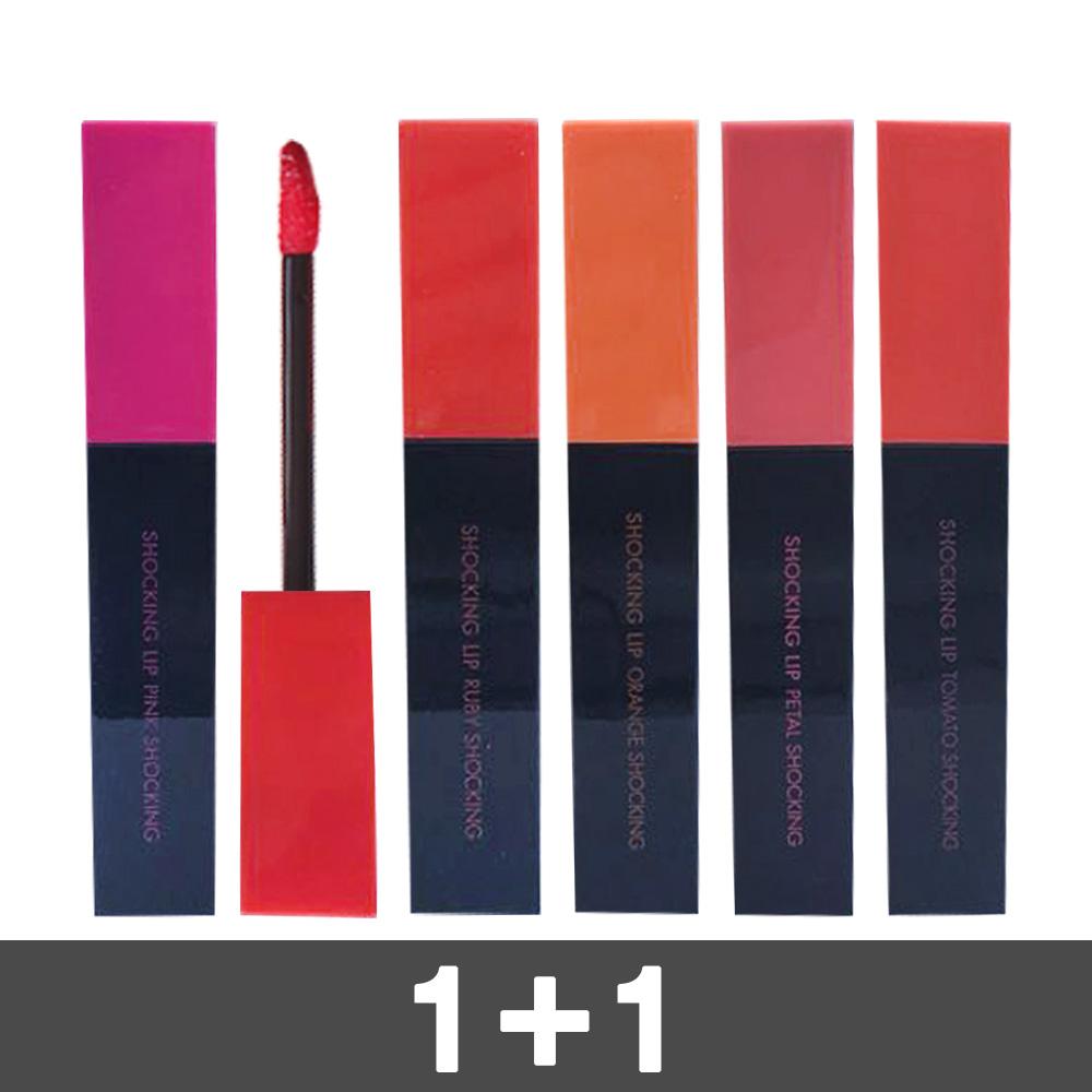 토니모리 퍼펙트립스 쇼킹 립 7g 틴트 / 타투 1+1 2개, 7호 로즈쇼킹, 1호 핑크쇼킹