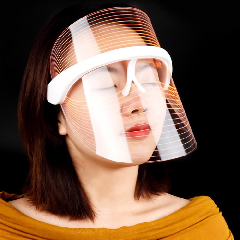 GUFU LED마스크 근적외선 홈케어 스킨케어 버디스킨 꿀피부 더마 3컬러 LED 미용마스크-, LED-DZNFY