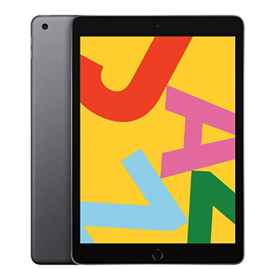 애플 아이패드 iPad 7세대 10.2인치 Wi-Fi 모델 CPU A10 Fusion 칩 펜슬 1세대 지원, 스페이스그레이, 32GB Wi-Fi 모델