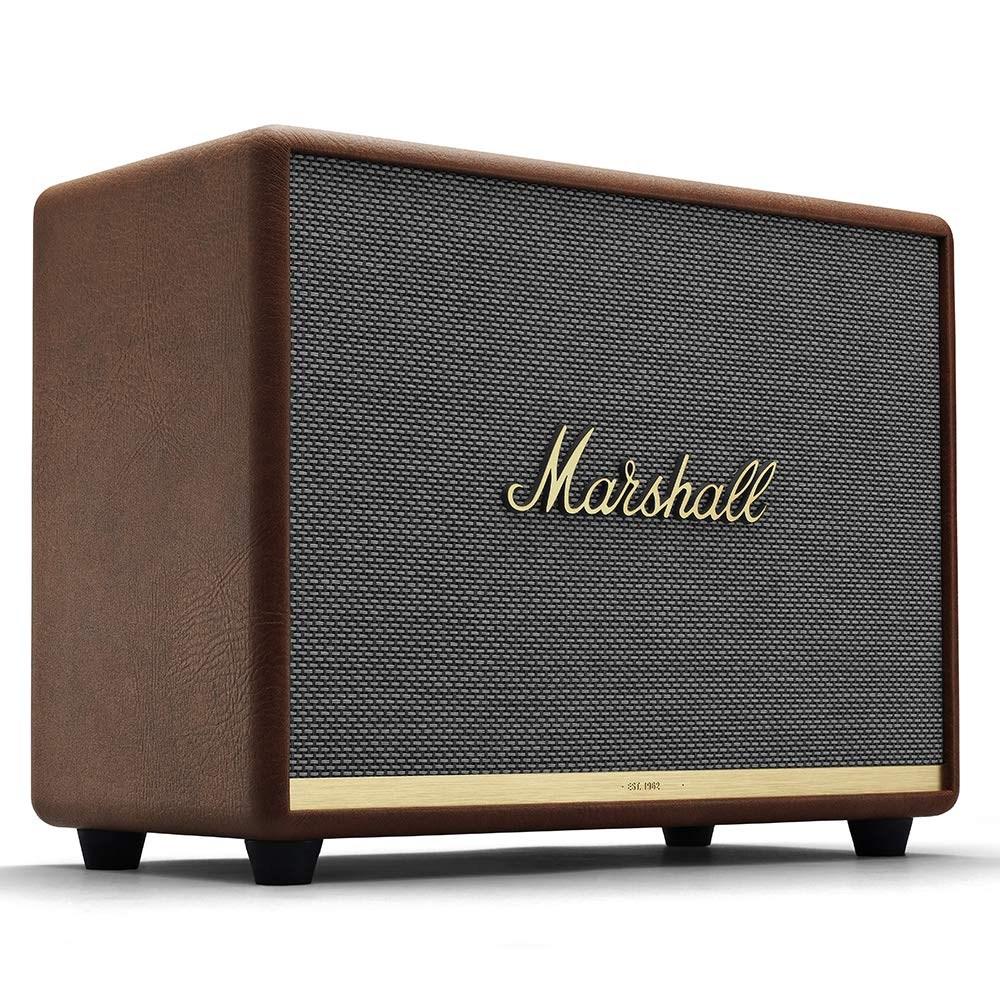 Marshall Woburn II Wireless Bluetooth Speaker 마샬 워번2 블루투스 휴대용 스피커, 브라운