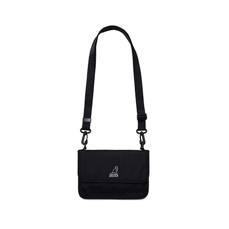 [신제품] Kangol Kangaroo Wallet 캐주얼 어깨 메신저 백 Pite Cross Bag 3070