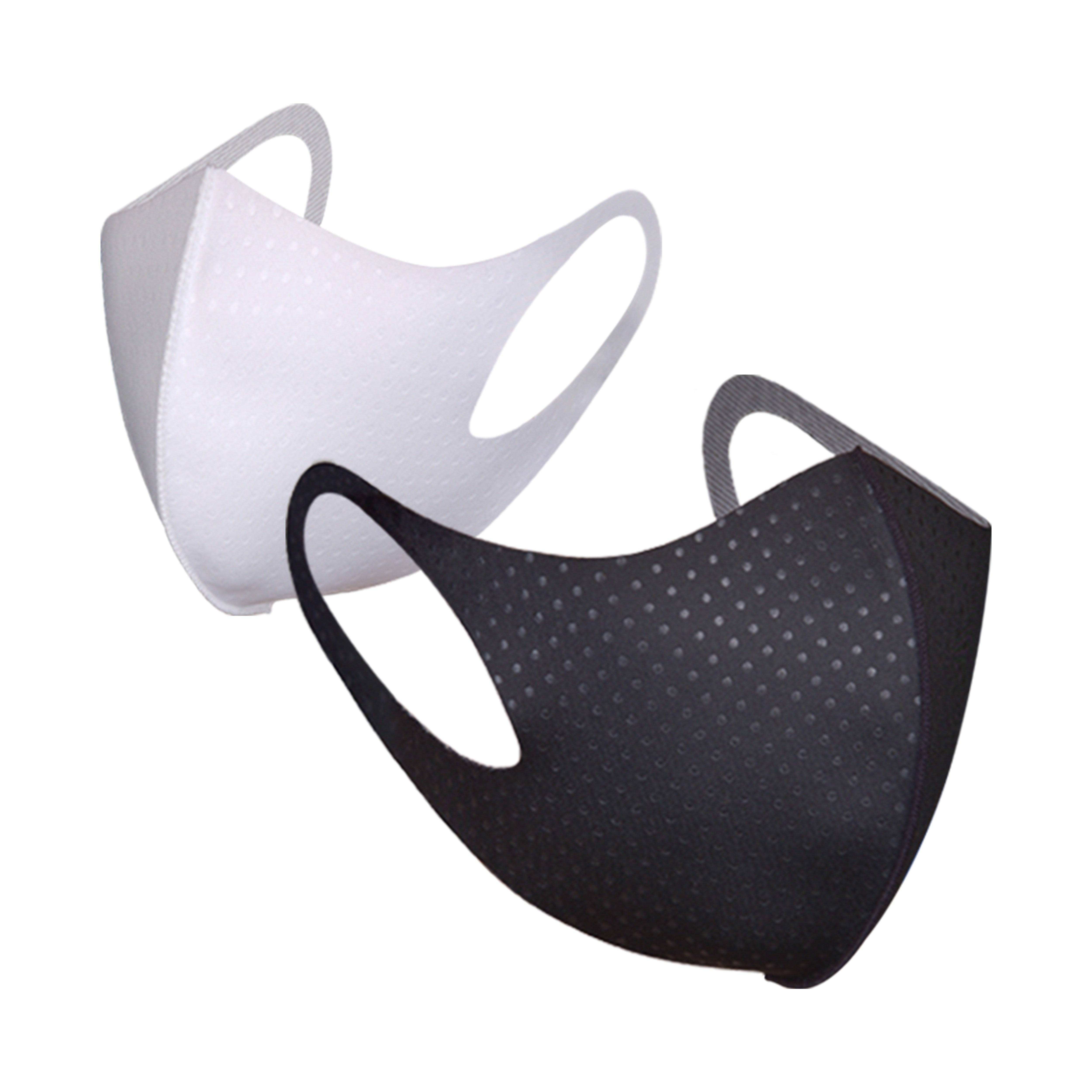 [리릿] 4매_3D 입체 항균 패션 쿨 마스크 기능성 구리원사 자외선차단 빨아쓰는 재사용가능 냉감