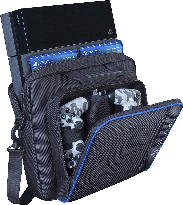 예상수령일 2-6일 이내 Barwa PS4 Pro 수납 가방 운반 가방 대용량 PS4 Pro 케이스 수납 파우치 가방 PS4 P, 상세 설명 참조0