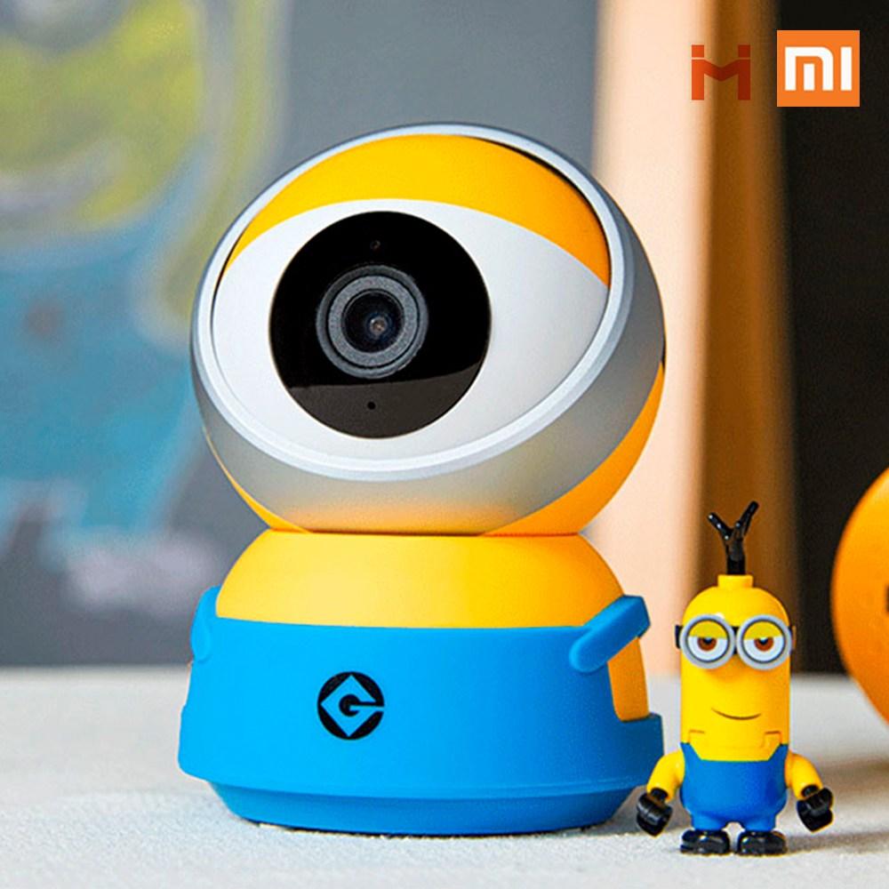 샤오미 xiaobai 스마트 웹캠 미니언즈 A1/ 300만 화소 홈카메라 CCTV 홈캠 2020년 신상, 샤오미 xiaobai 스마트 웹캠 미니언즈 A1