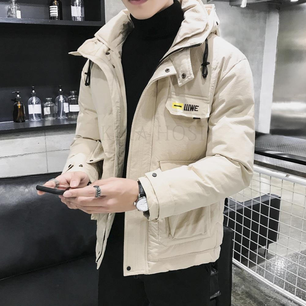 kirahosi 남자 블루종 자켓 간절기 패딩 겨울 보온 점퍼 숏 89호+덧신증정 Rxcc9mc