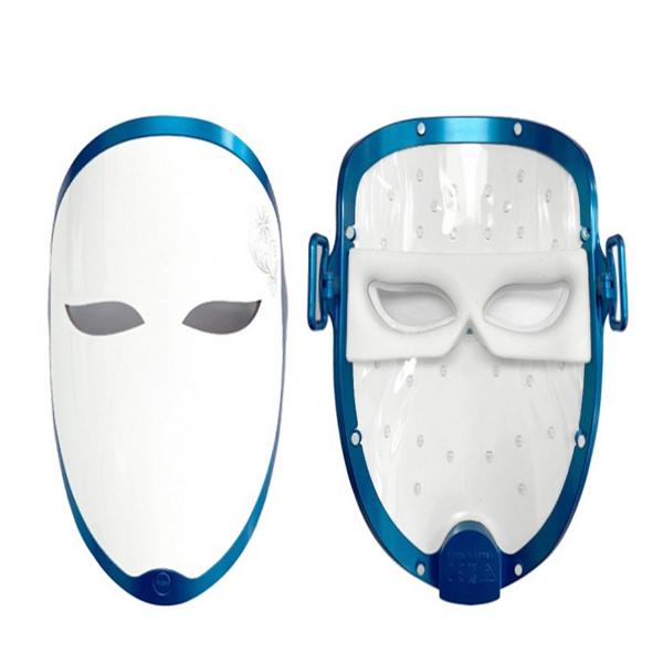 리쥼 LED 무지개 마스크 가정용 피부미용기기 피부마사지기, 화이트, ZUM Smart LED Mask