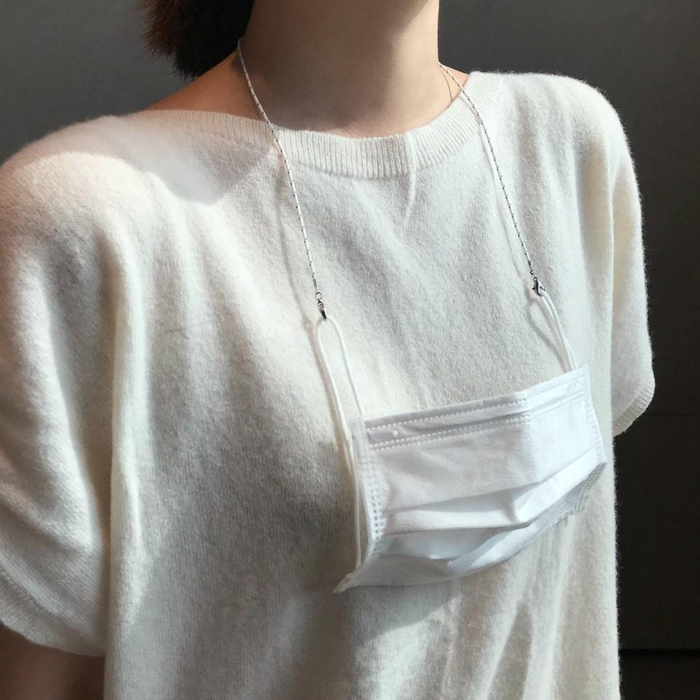 데일리 도트 마스크 목걸이 스트랩 가볍고 얇은줄
