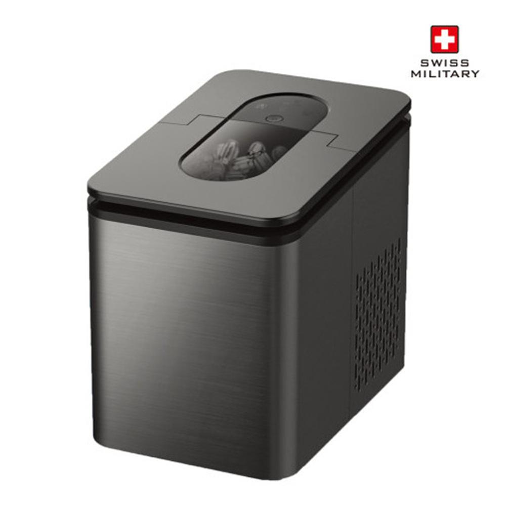 스위스밀리터리 스마트 아이스 메이커 제빙기 2.2리터 + 휴대용 선풍기 SMA-IM600DG
