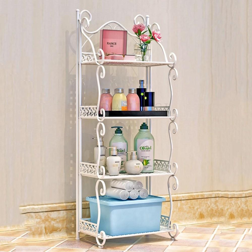 홈 화장실 욕실 스탠드형 수납선반 정리대 진열대 78호 kirahosi 78호+덧신증정 BVspvfdy, 1, 커피