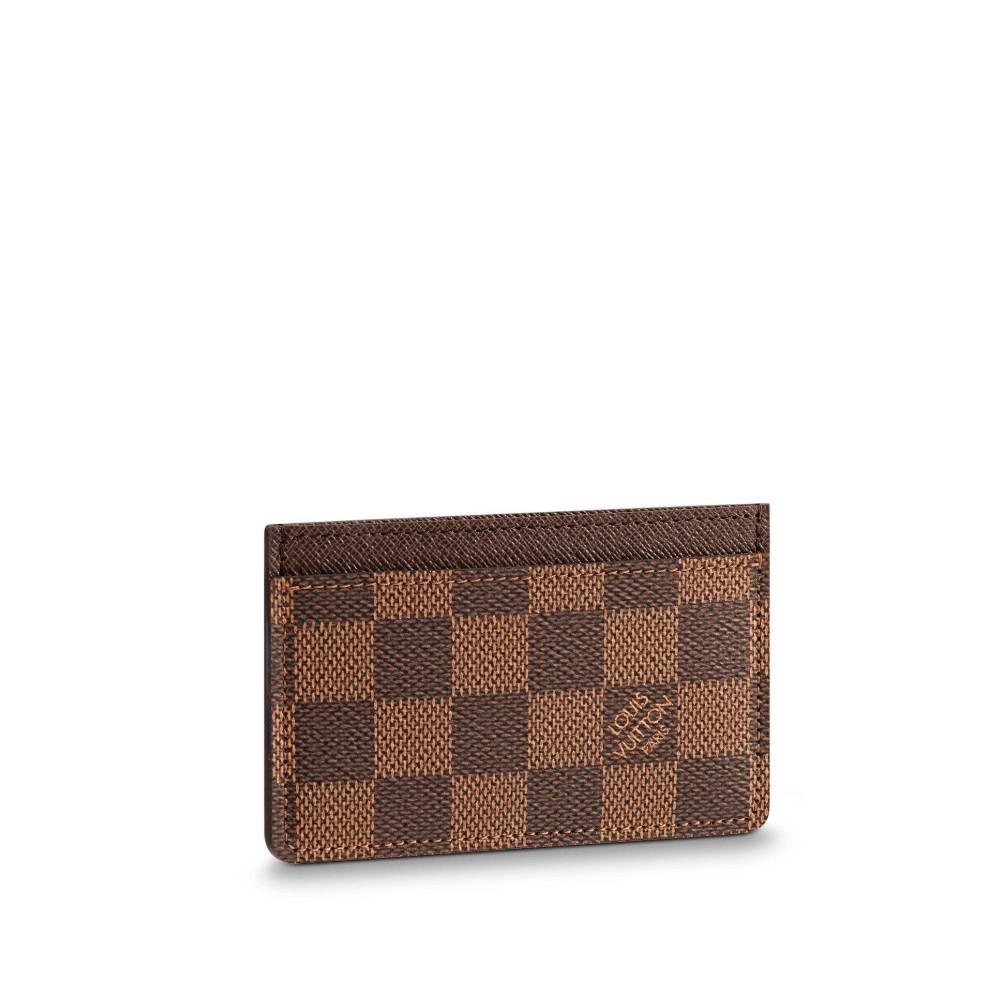 루이비통 지갑 카드홀더 다미에 에벤 N61722
