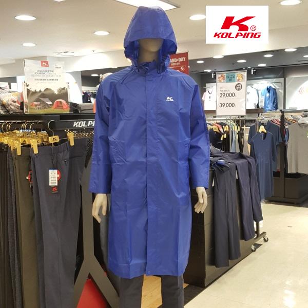 콜핑 KOLPING(콜핑)(KFA) 우비 비옷 레인코트(낚시 등산 트레킹등등) *남여공용 *사계절, 옐로우