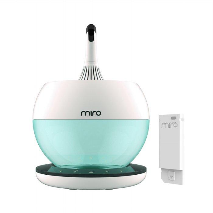 미로 클린팟 완벽세척 초음파 가습기 MIRO-NR08M IoT [4L / 시간당 500cc /무드등], 단일상품