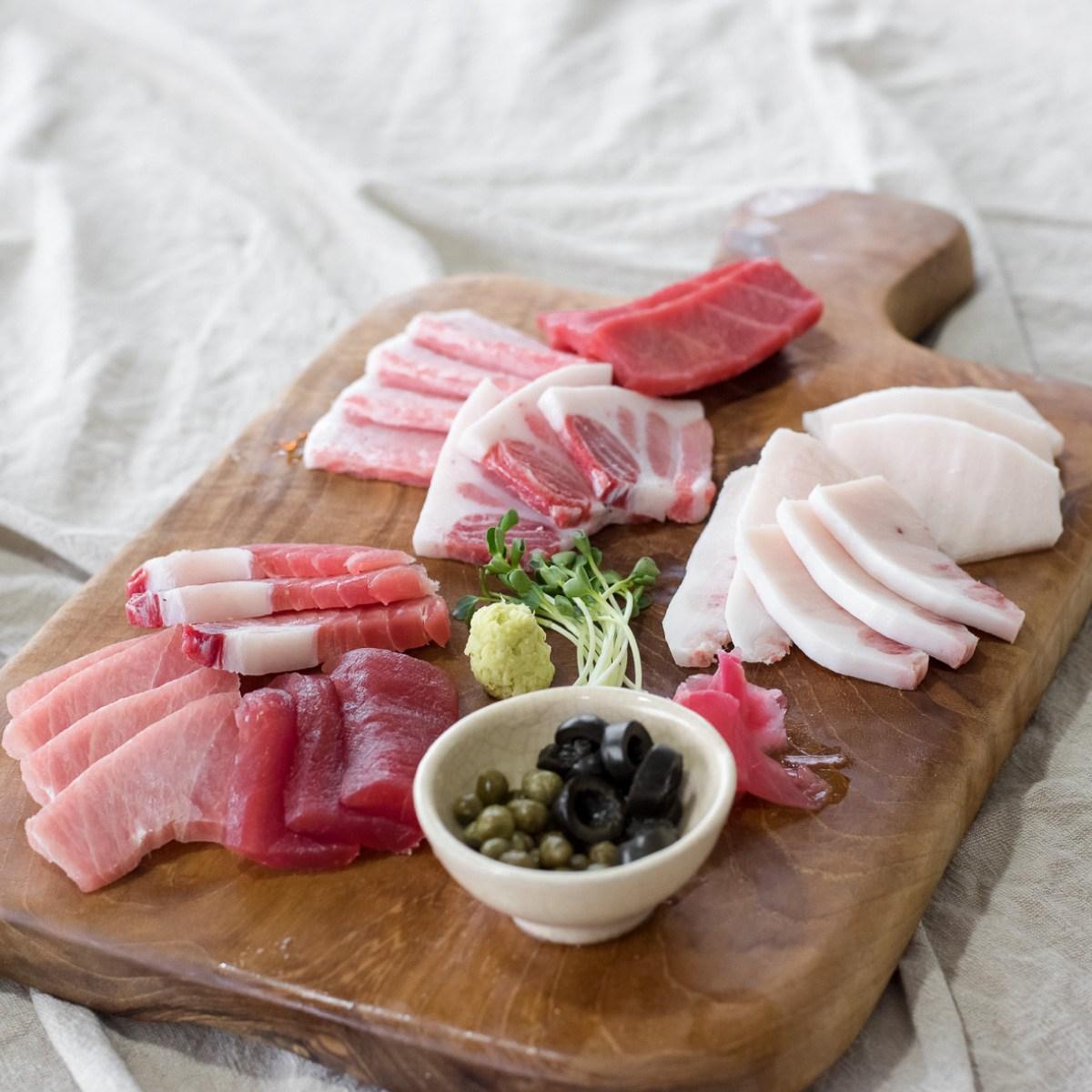 참치브라더 바로먹는 사시미형 고급세트 참치회, 1세트, 부부세트 (2~3인)