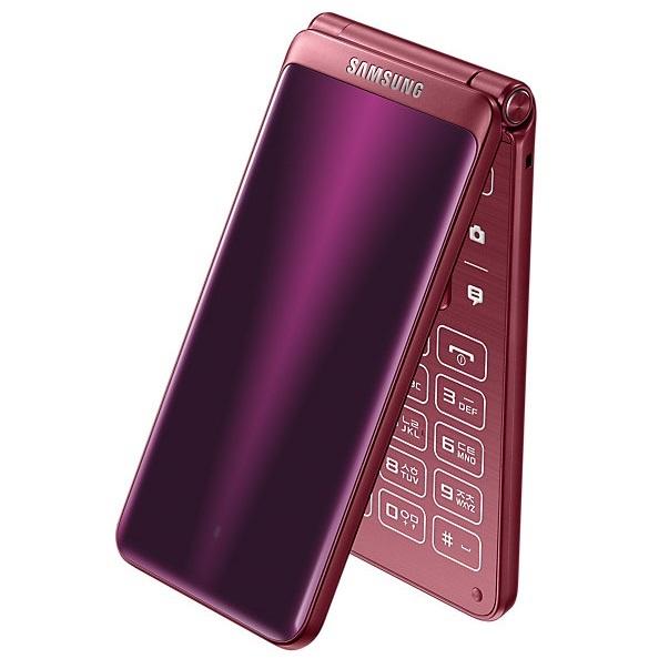 SK KT LGU 갤럭시폴더2 G160 가개통 새제품 미사용 폴더폰 효도폰 와인폰LTE, 와인레드