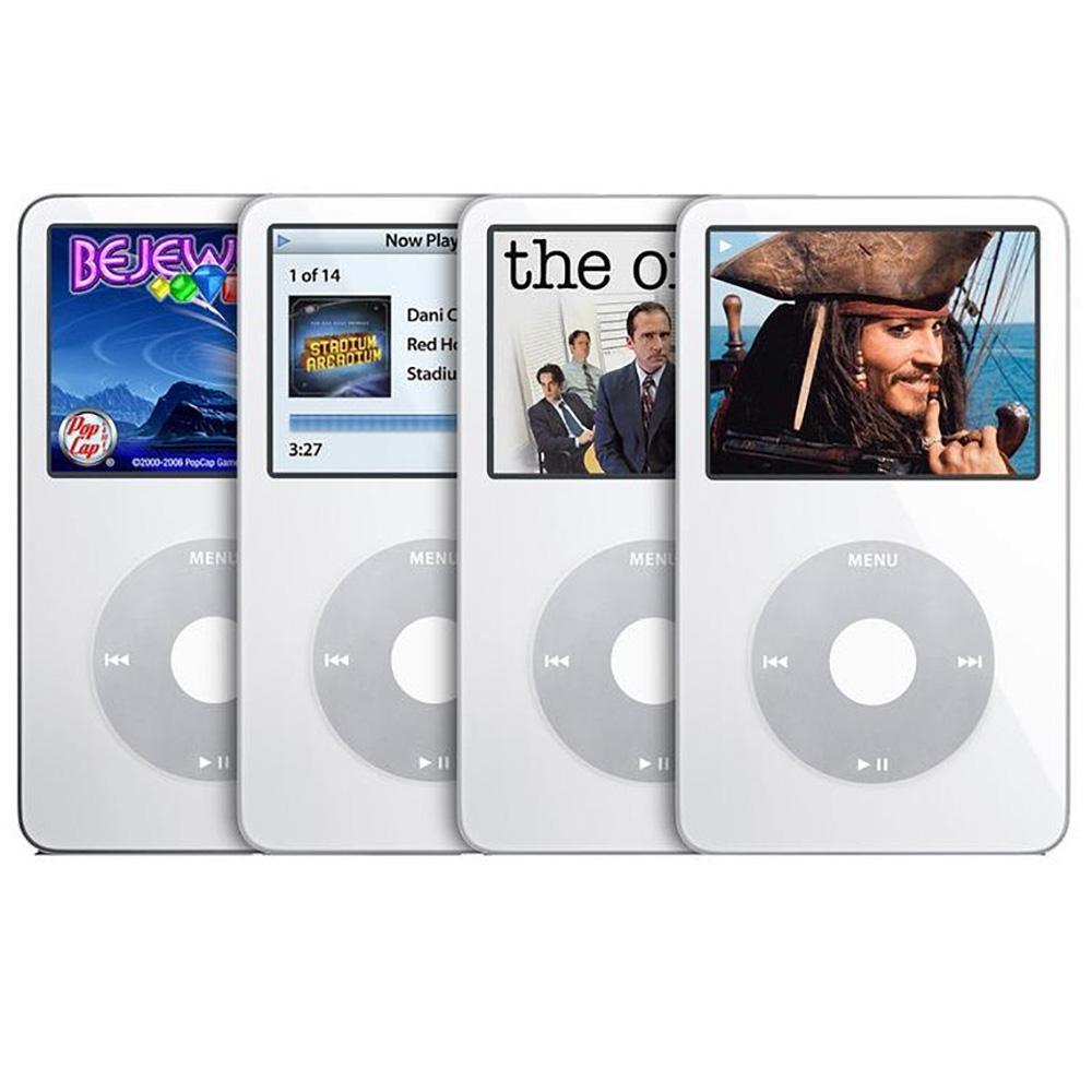 애플 아이팟 클래식 비디오 IPOD VIDEO (5th) 우유팟 업그레이드판 출시, 화이트, 아이팟 비디오30기가