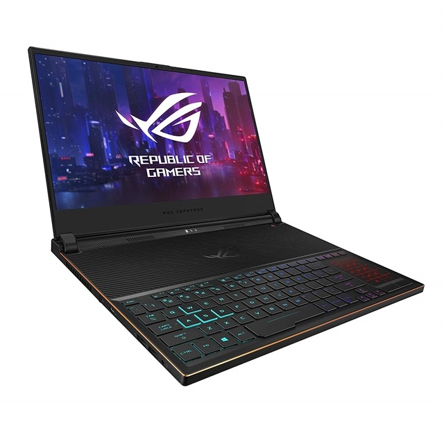 ASUS GX531GW-AB76 ROG Zephyrus S Ultra Slim Gaming Laptop 15.6 144Hz IPS Type FHD GeForce RTX 2070 i7-9750H, 단일색상, GX531GW-AB76 ASUS ROG Zephyrus S
