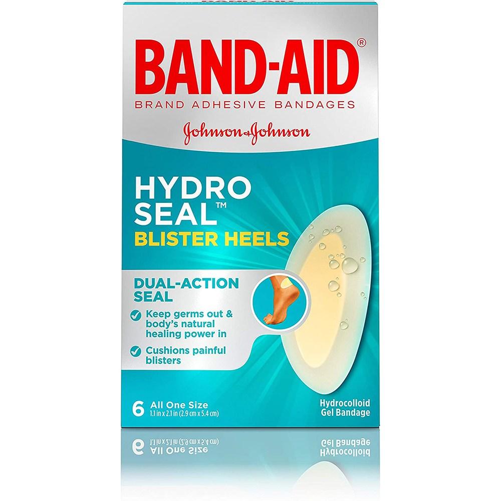 밴드에이드 하이드로 씰 방수 습윤 물집밴드 6입 3팩 (POP 4717541850)