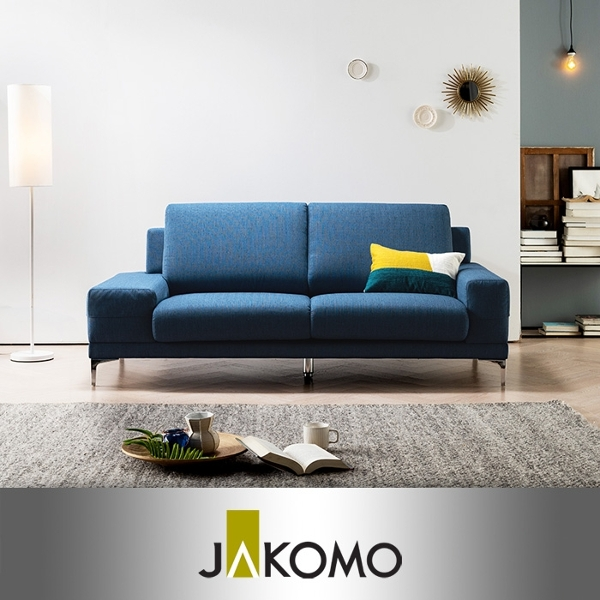 자코모 [자코모]플렉스 3인 케어위브 소파, 3010 블루