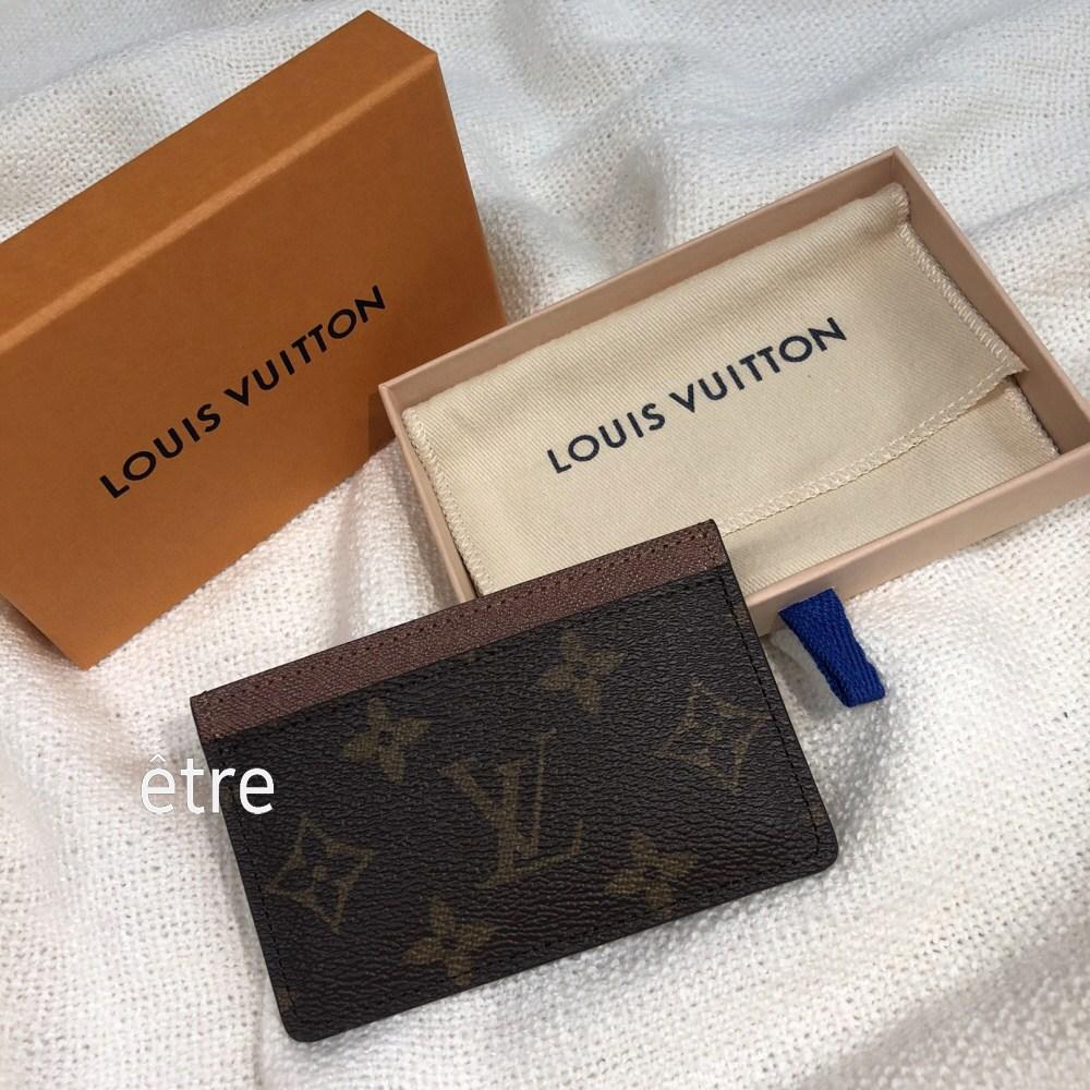 루이비통 카드지갑 포트 카트 모노그램 M61733 심플