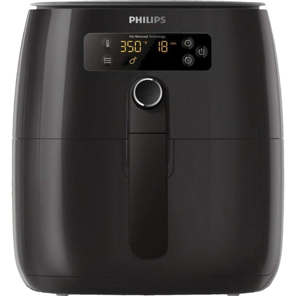 필립스 프리미엄 디지털 에어프라이어 블랙 2.6L, HD9741/96