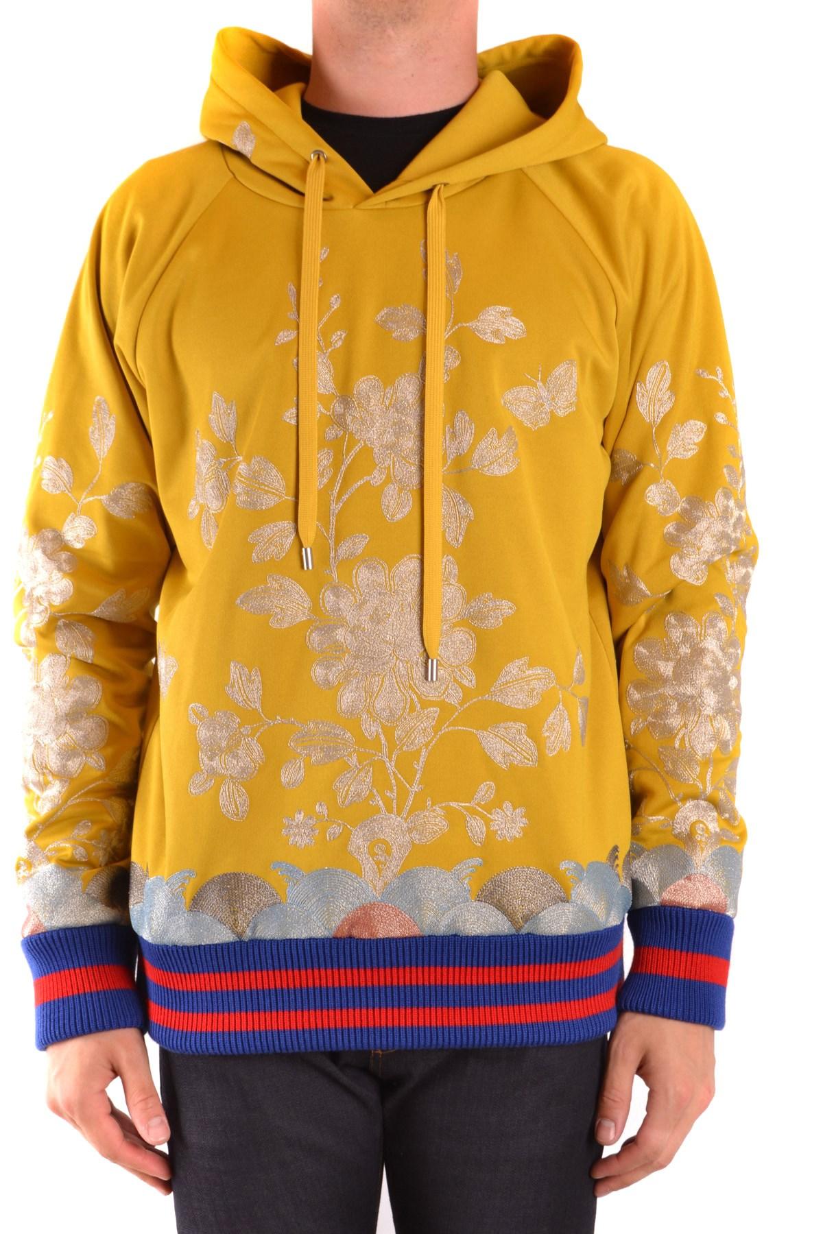 구찌 맨투맨 yellow polyester EZBC012011