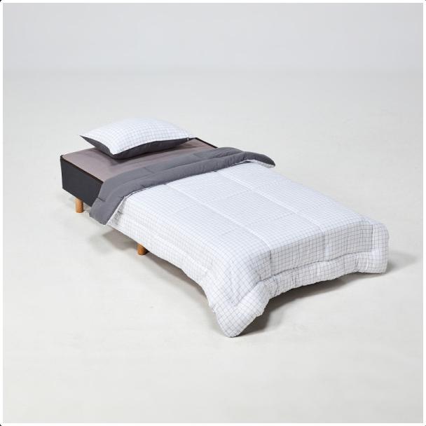 모던하우스구로점 민트 공간절약 매트리스 일체형 싱글침대세트