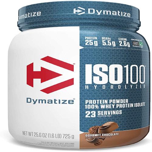 다이마타이즈 ISO100 하이드로라이즈드 프로틴 파우더 고멧 초콜릿 725g, 1개
