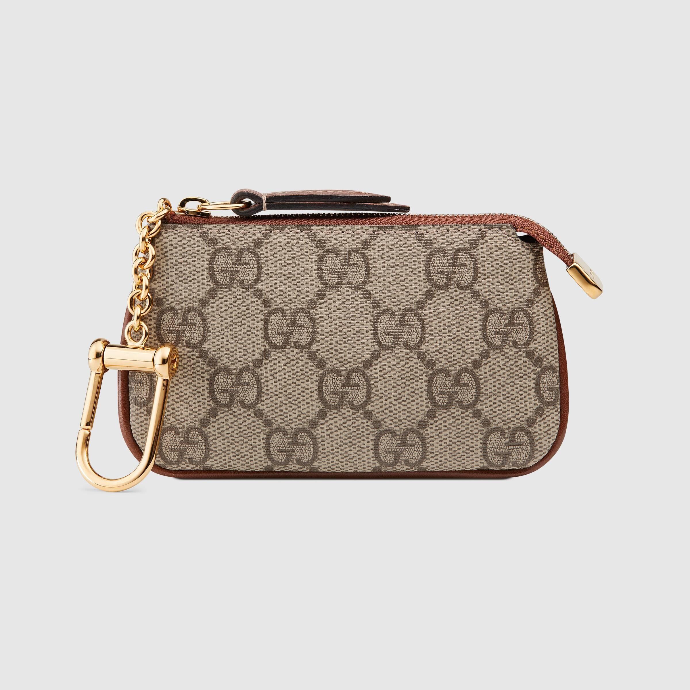 Gucci GG Supreme key case 447964 KLQHG 8526