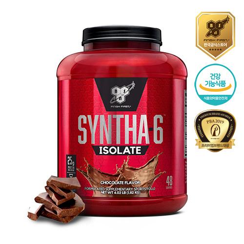 BSN 신타6 아이솔레이트1.82kg 단백질보충제 초코, 1개, 1.82kg