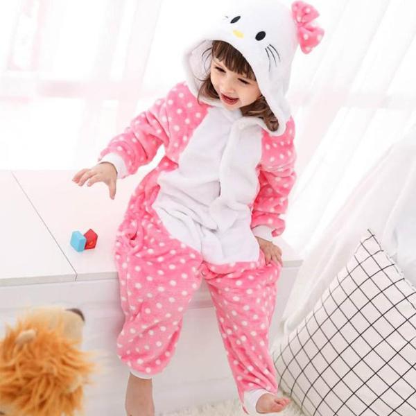 맘앤대디 어린이 동물잠옷 고양이